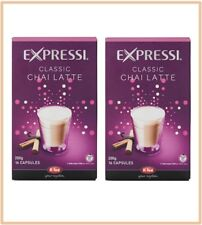 32 Capsules (2 boxes) Aldi Expressi Chai Latte Pods