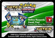 Pokemon XY Fates Collide TCG online code cards (12 count)