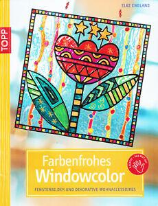 ( Basteln, Malen ) Farbenfrohes Window Color