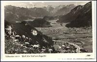 Falkenstein Bayern alte Ansichtskarte ~1950/60 Blick über Tirol zur Zugspitze