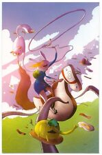 Adventure Time Fionna & Cake #1 of 6 Variant Cover Calgary Expo