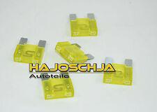 5 x 20 A MAXI FUSIBILE APX Fusibile A Spina Sicurezza giallo Auto Ampere