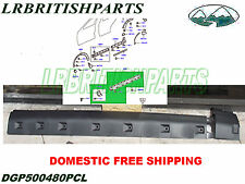 LAND ROVER SILL MOULDING ANTHRACITE LR3 LR4 RIGHT SIDE OEM NEW DGP500480PCL