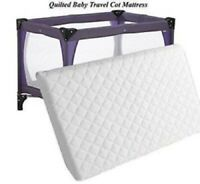 New Thick Travel Cot Mattress Fit 100 X 70 X 7.5 CM More Comfy For New Born