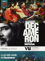 Le più belle novelle del Decamerone Boccaccio, Benvenuti Audiolibro CD Nuovo