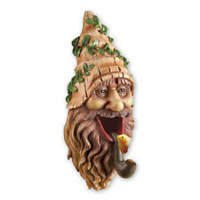 Tree Mounted Gnome Bird House, by Collections Etc