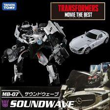 TAKARA TOMY TRANSFORMERS MOVIE THE BEST MB-07 SOUNDWAVE Figure