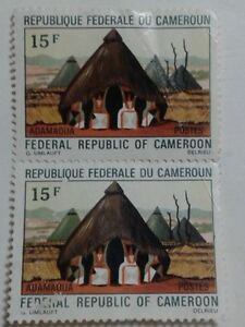 2 x REPUBLIQUE FEDERALE DU CAMEROUN - (CAMEROON) - BOTH 15 F