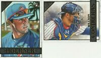 2020 Topps Gallery Willson Contreras Nico Hoerner Chicago Cubs
