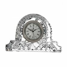 Waterford Crystal Lismore Cottage Clock 12 cm