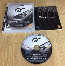 GRAN TURISMO 5 PROLOGO-Playstation 3 PS3 GAME-Completo