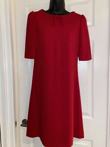 Hobbs Red Dress Size 8