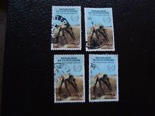 COTE D IVOIRE - timbre yvert/tellier n° 802 x4 obl (A28) stamp