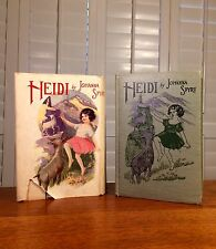 "Heidi ""A Child's Story of Life in the Alps"" by Johanni Spyri, Antique w DJ"