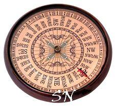 Vintage Royal Navy London Brass Antique Compass Anker Compass 1914