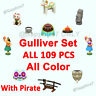 Animal Corssing:New Horizons🗿Gulliver (Pirate&World)  Full Set 109 Pcs