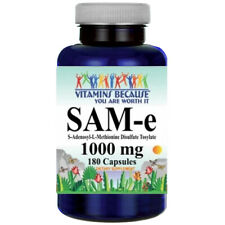 SAM-e 1000mg 180 caps ADENOSYL-METHIONINE DISULFATE TOSYLATE