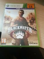 Blackwater - XBOX 360 strategy game with instruction booklet - VGC