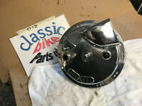 BSA A65 TRIUMPH TRITON POLISHED FRONT CONICAL HUB & TLS BRAKE PLATE PROJECT