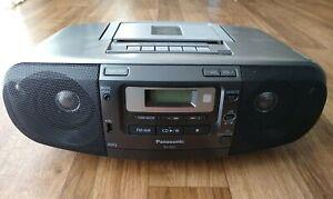 Panasonic RX-D55 - High Power / Quality MP3 CD AM/FM Radio Cassette Recorder