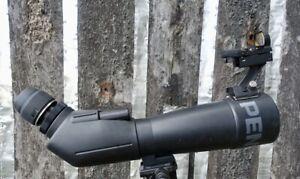 Pentax PF-80EDA 80mm Spotting Scope & Pentax XW 20mm (26x) Extra Wide eyepiece.