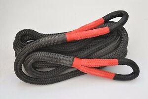 1inch×30ft  Energy Rope,Double Braid Towing Rope,Kinetic Rope,Recovery Rope