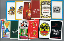 Playing Swap Cards 20  VINT & SEMI  VINT  WORLD  MIXED  DRINK  ADVTS  BULK19