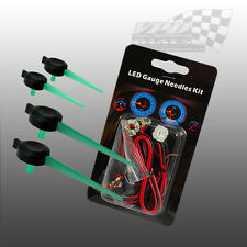 GREEN LED NEEDLE KIT DASHBOARD SPEEDO 12V LIGHTING KIT FORD ESCORT 1995-2000