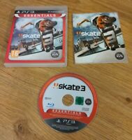 Skate 3 - Essentials Sony PlayStation 3 PS3 Game Complete with Manual - Free P&P