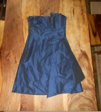womens karen millen navy dress size 10 made in Cyprus,mint used condition