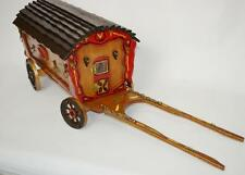 Vintage Romany Gypsy  Handcraft wooden Caravan Model [PL2586]