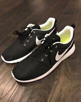 Nike Roshe Run Rosherun Premium Shoes Sneakers Black New 511881 092 Men's Size 8
