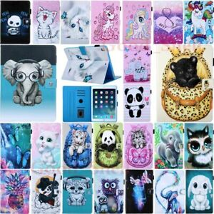 For iPad 8th 7th 6th 5th Gen/Mini/Air/Pro Magnetic Flip Stand Leather Case Cover