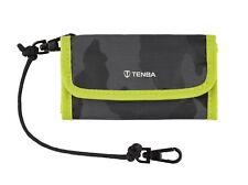 Tenba Tools Reload CF 6 - Black Camo/Lime- CF Memory Card Wallet
