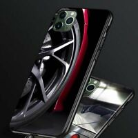 Sport Car Phone Case Speed Speedometer Drift Wheel Soft Cover For iPhone 12 11 X