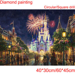 Cartoon Castle DIY 5D Diamond Painting Full Drill Embroidery Cross Stitch GIFT