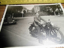 Altes Motorradfoto 50ziger Jahre!