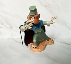 "WDCC Disney "" Felonious Fox "" J. Worthington Foulfellow from Pinocchio"