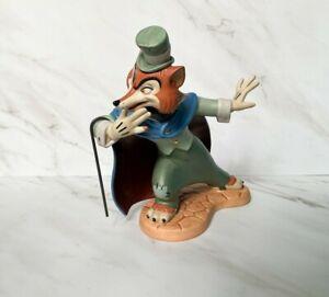 "WDCC Disney "" Felonious Fox "" J. Worthington Foulfellow from Pinocchio"