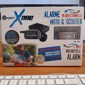 Système d'alarme Beeper bi.directionnelle Moto & Scooter X1R
