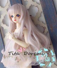 Bjd Doll Wig 1/6 6-7 Dal Pullip AOD DZ AE SD DOD LUTS Dollfie pink Toy/ Hair