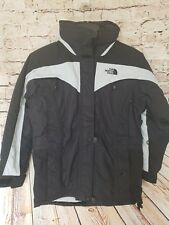 NWT! The North Face Women's Hooded ARC Ski Snowboard Hyvent Jacket Black Sz 6
