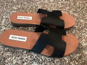Steve Madden Dariella Womens 8.5M Leather Sandals Great Condition