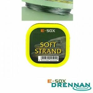 Drennan Esox Soft Strand Pike Wire 15lb *PAY 1 POST*