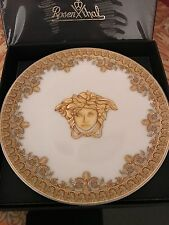 ROSENTHAL VERSACE I LOVE BAROQUE PLATE COASTER MEDUSA GOLD NEW 2017 pattern