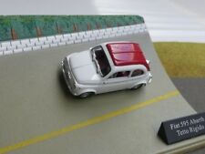 1/43 Fiat 595 Abarth Tetto Rigido weiß mit rotem Dach