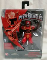 "POWER RANGERS - *New MOC* Super Ninja Steel Red Ranger Saban Figure 5"" 12.5cm"