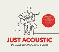 JUST ACOUSTIC 80 Classic Acoustic Songs (2018) 80-track 4-CD set NEW/SEALED
