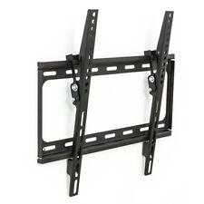 """SUPPORTO STAFFA PARETE MURO INCLINABILE TV LCD TFT LED 32-55 """" VESA max 400x400"""