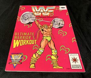 WORLD WRESTLING FEDERATION Ultimate Warrior's Workout 1991 Valiant Comics WWF